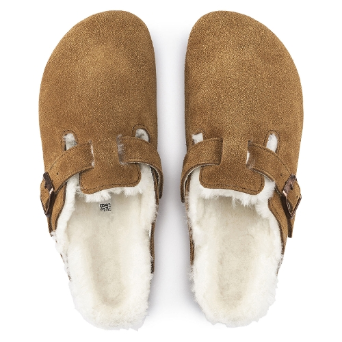 MINK SUEDE BOSTON SHEARLING - Perspective 2