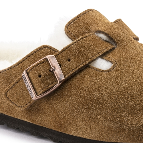 MINK SUEDE BOSTON SHEARLING - Perspective 3