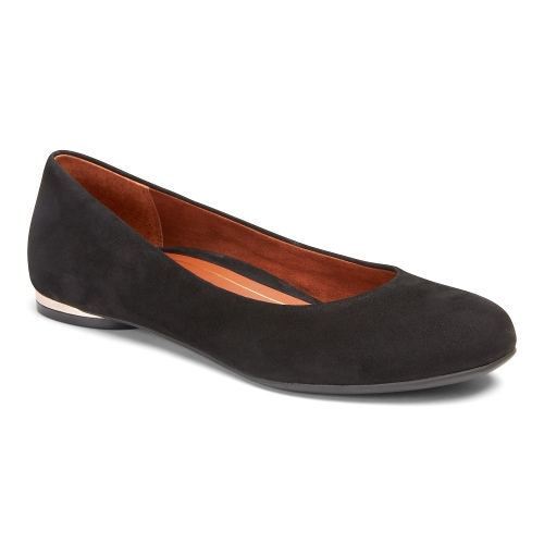 Picture of BLACK SUEDE HANNAH