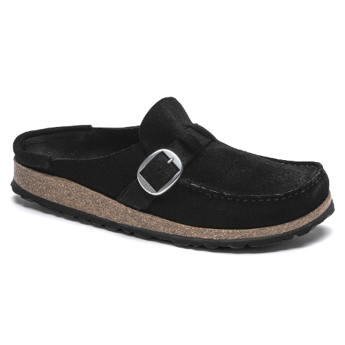 Picture of BLACK SUEDE BUCKLEY
