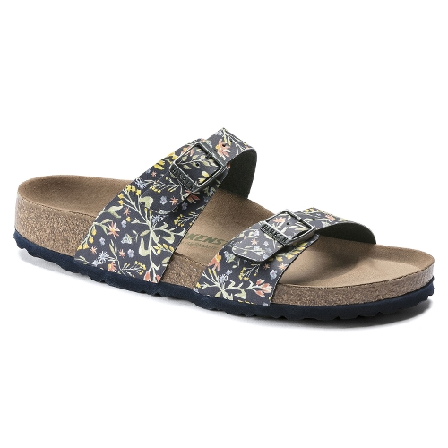WATERCOLOR FLOWER NAVY SYDNEY VEGAN