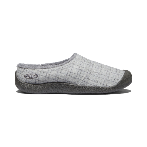 GREY FELT PLAID HOWSER WRAP SLIDE