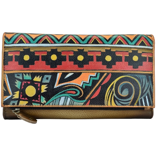 Picture of ANT AZTEC 3 FOLD CLUTCH