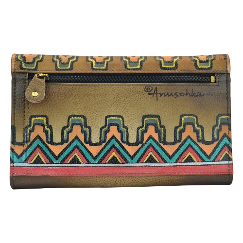 ANT AZTEC 3 FOLD CLUTCH - Perspective 2