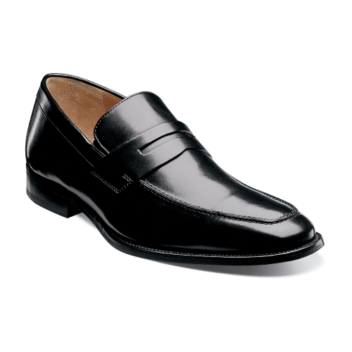 BLACK SMOOTH SABATO PENNY
