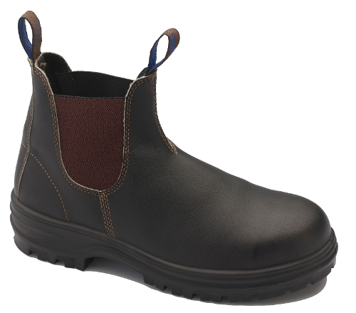 STOUT BROWN 140 SAFETY TOE