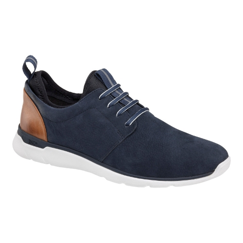 NAVY NUBUCK PRENTISS PLAIN TOE