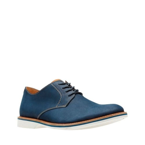 Picture of NAVY NUBUCK ATTICUS LACE