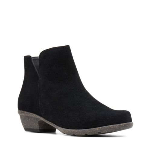 Picture of BLACK SUEDE WILROSE FROST