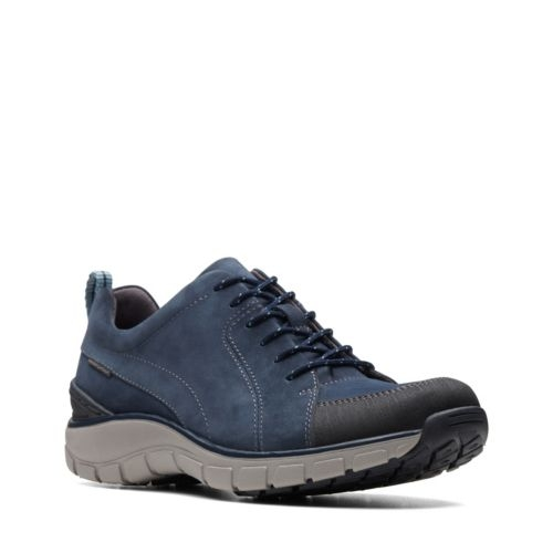 Picture of NAVY NUBUCK WAVE GO