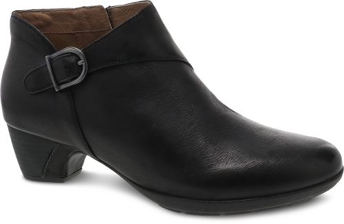 BLACK BURNISHED NUBUCK DARBIE