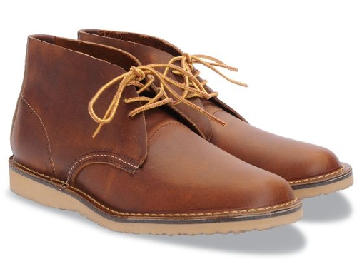 COPPER ROUGH WEEKENDER CHUKKA