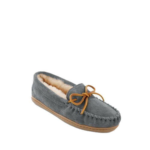GREY SHEEPSKIN MOC