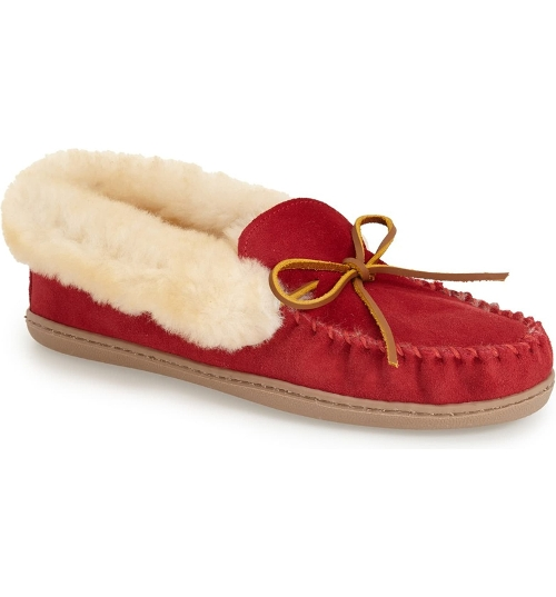 Picture of RED ALPINE SHEEPSKIN