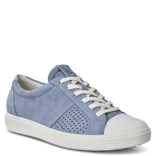 WHITE / BLUE SOFT 7 CAP TOE