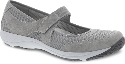 Picture of GREY SUEDE HENNIE