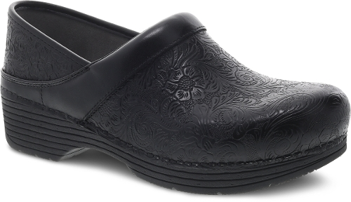 BLACK FLORAL TOOLED LT PRO