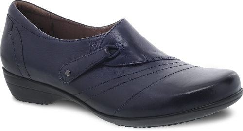 NAVY BURNISHED FRANNY