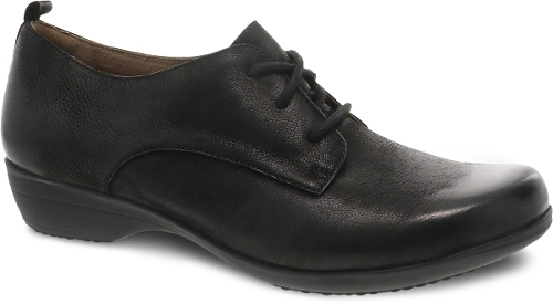 BLACK BURNISHED NUBUCK FINOLA