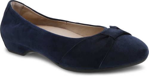 Picture of NAVY KID SUEDE LINA