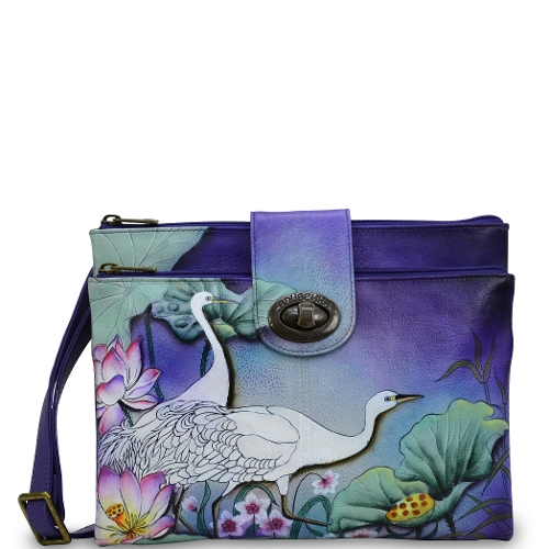 PEACEFUL GARDEN CROSSBODY ORGANIZ