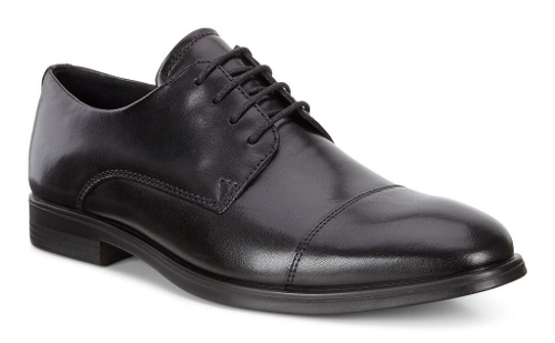 BLACK MELBOURNE CAP TOE