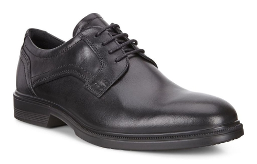Picture of BLACK LISBON PLAIN TOE