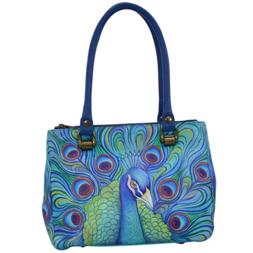 Picture of JEWELED PLUME 3 COMP MED TOTE