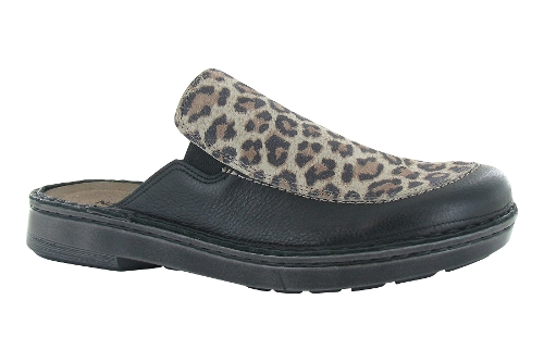 SOFT BLACK / CHEETAH SUEDE PROCIDA