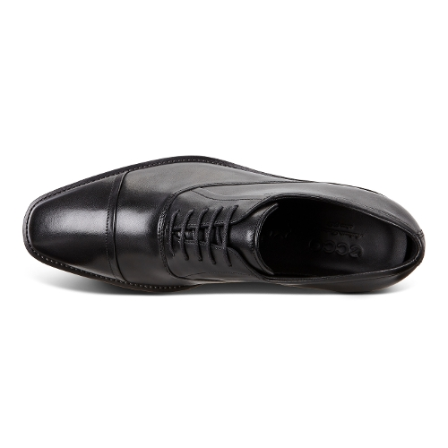BLACK CALCAN CAP TOE - Perspective 3