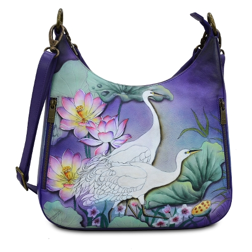 PEACEFUL GARDEN SLIM HOBO