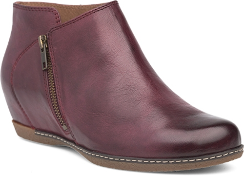 Active Image - WINE BURNISHED CALF LEYLA