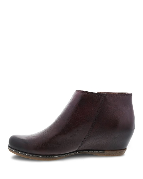WINE BURNISHED CALF LEYLA - Perspective 2