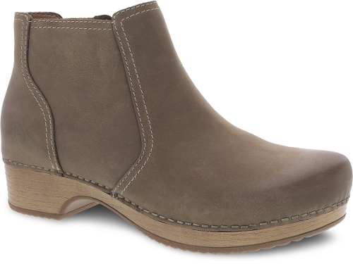 Picture of TAUPE BURNISHED NUBUCK BARBARA