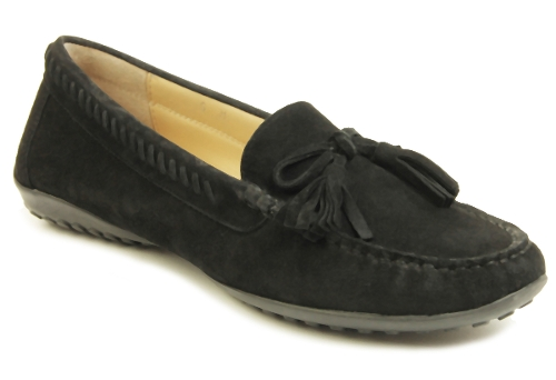 Picture of BLACK SUEDE ACAJOU