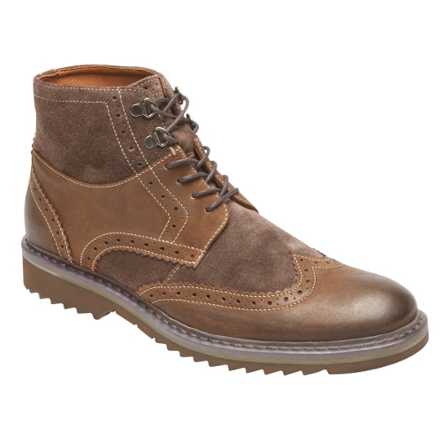 BROWN JAXSON WING BOOT