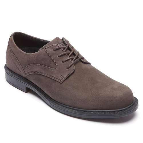 SMOKE NUBUCK JERICHO OXFORD