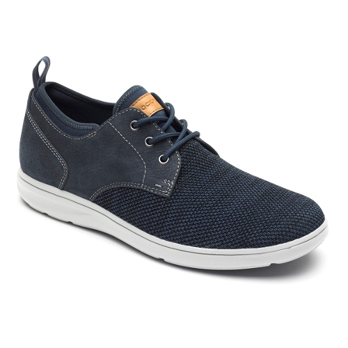 Picture of NAVY MESH ZADEN PLAIN TOE
