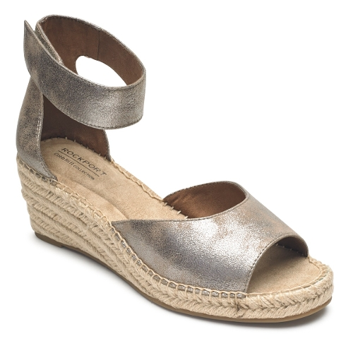 Picture of TAUPE METALLIC KAIRI 2 PC ANKLE