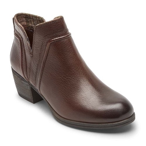 TAN ANISA VCUT BOOTIE