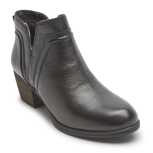 Picture of BLACK ANISA VCUT BOOTIE