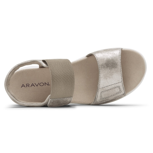 METALLIC BEAUMONT TWO STRAP - Perspective 3