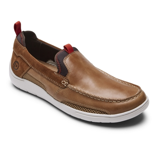 TAN FITSMART LOAFER