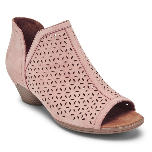 LIGHT ROSE LAUREL OPEN BOOT