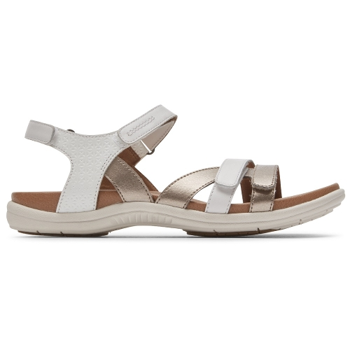 WHITE RUBEY INSTEP STRAP - Perspective 2