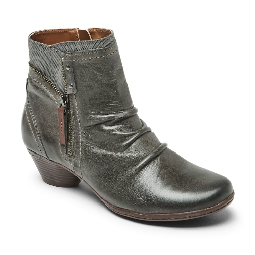 GREY LAUREL BOOTIE