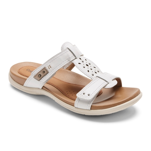 WHITE PEWTER RUBEY PERF SLIDE