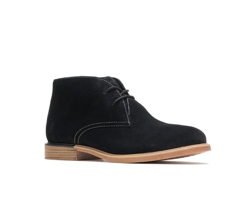 BLACK BAILEY CHUKKA BOOT
