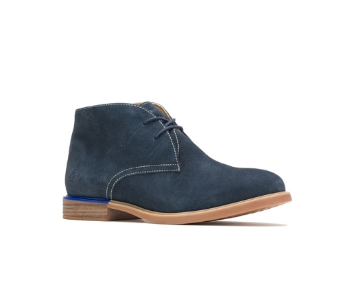 NAVY BAILEY CHUKKA BOOT