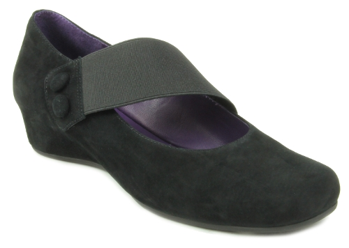 Picture of BLACK SUEDE MABLE